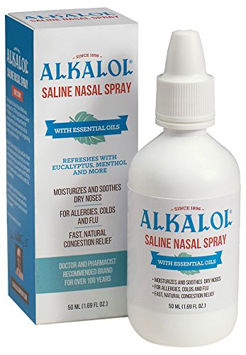 Alkalol Solution Saline Nasal Spray, 1.69 -