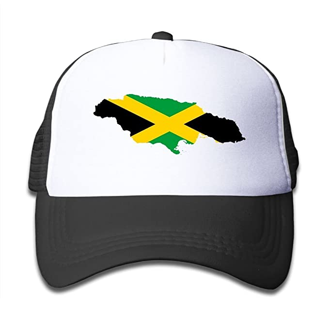 Amazon Poh08dg Youth Toddler Baseball Cap Flag Map Of Jamaica