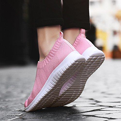 HK2133 TIOSEBON Pink Walkingschuhe Damen 2132 866Twdxn