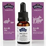 Denes Natural Pet Care Ltd Arsenicum Alb Homeopathy Remedy 30C - 15Ml - Gastro-Enteritis/Allergy Based Itching/Dandruff/Anxiety
