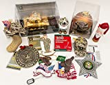 JZ Bundles Starter Set - Army - Kurt Adler - 12-Piece Bundle - A Bundle of Christmas Ornaments Great Gift