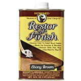 Howard RF8016 Restor-A-Finish, 16-Ounce, Ebony Brown