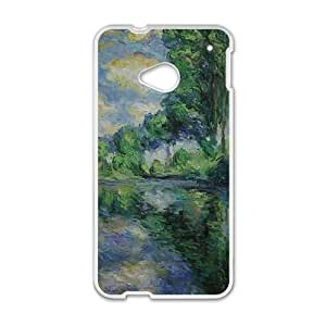Green forest painting Phone Case for HTC One M7