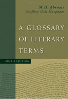 Glossary Of Literary Terms Amazoncouk Geoffrey Galt Harpham