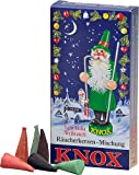 KNOX Variety of Holiday Scented Incense Cones, Pack of 24, Made in Germany
