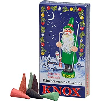 Knox Variety Pack German Incense Cones for German Incense Smokers