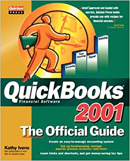 Book QuickBooks 2001: The Official Guide (QuickBooks: The Official Guide)