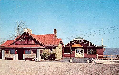 West Park New York Hudson Overlook Inn Cafe Heidelberg Vintage Postcard JC932692