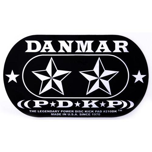 Danmar DA 210DKST Star Design Double Bass Drum Impact Pad