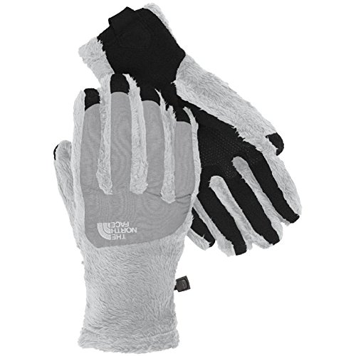 Womens Denali Thermal Glove - The North Face Denali Thermal Etip Glove Womens High Rise Grey/Mid Grey S