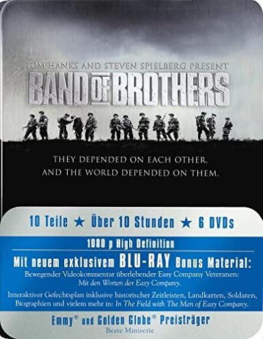 Band of Brothers - Box/Metal-Pack Alemania Blu-ray: Amazon.es