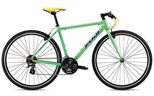 FUJI(フジ) RAIZ 3x8段変速 クロスバイク 19RAIZGR17 LIME GREEN 17