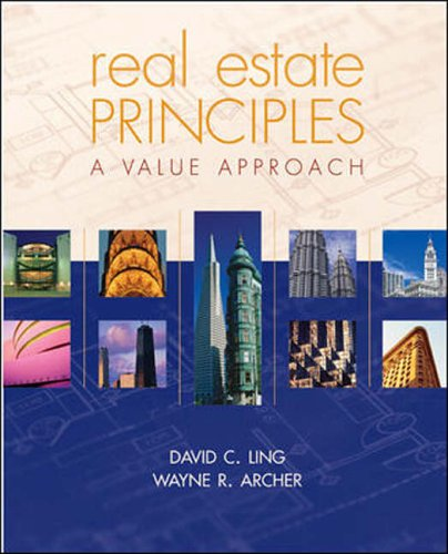 Real Estate Principles: A Value - Ling Real Estate
