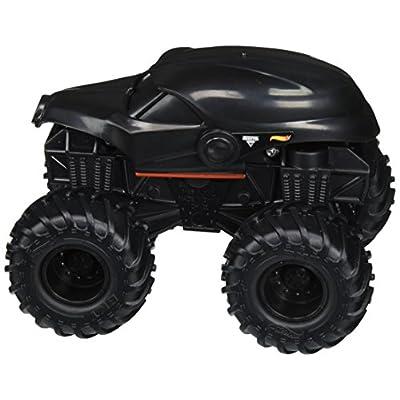 Hot Wheels Monster Jam Rev Tredz Doomsday Vehicle: Toys & Games