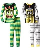 Yo Gabba Gabba Brobee & Plex Long-Sleeve Pajama Set