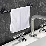 18 Inch Industrial Pipe Towel Bar, Elibbren
