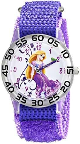 Disney Kids' W001670 Rapunzel Analog Display Analog Quartz Purple Watch