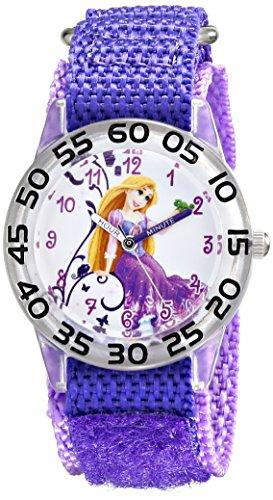 Disney Kids' W001670 Rapunzel Analog Display Analog Quartz Purple Watch ()
