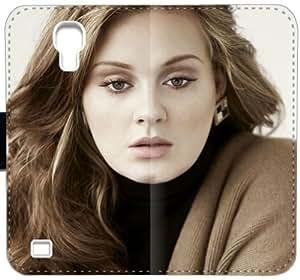 Adele Y0B4O Funda Samsung Galaxy S4 Funda de cuero caja de la carpeta de plástico i1o0c7 fundas caso del tirón del teléfono