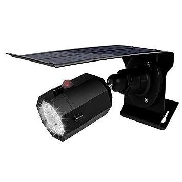 Houkiper 10 llevó la luz del sensor de movimiento con la cámara de vigilancia falsa luz