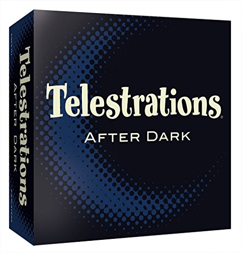 Telestrations After Dark Adult Party Game | Adult Board Game | An Adult Twist on The #1 Party Game Telestrations | The Telephone Game Sketched Out | Ages 17+ -