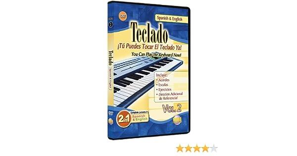 2: You Can Play the Keyboard Now / Teclado, Vol. 2: Tu Puedes Tocar El Teclado Ya (2-in-1 Bilingual Series) by Rogelio Maya: Rogelio Maya: Movies & TV