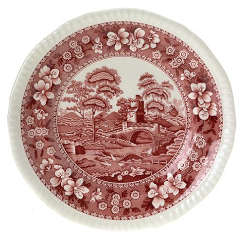 Spode Tower Pink 6-Inch Bread and Butter Plate