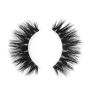 c06888ad7fb BEPHOLAN Mink Lashes | 100% Siberian Mink Fur False Eyelashes | Dramatic  Round Look