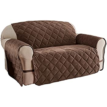 Amazon Com Quilted Velvet Furniture Protector Cover