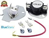 279816 Dryer Thermostat Kit Replacement by Blue Stars - Exact Fit for Whirlpool & Kenmore Dryer - Simple Instructions Included
