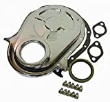 454 timing chain - Chrome BBC Chevy 396-454 Timing Chain Cover Kit