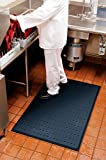 Complete Comfort Anti Fatigue Mat 3' x 4' With Holes CCM4X8WH