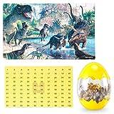 Dinosaur Puzzle, Wooden Puzzles 60 Pieces Puzzles