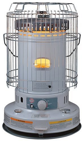 Kero World KW-24G 23,000-BTU Indoor Portable Convection Kerosene Heater