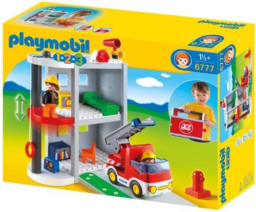 PLAYMOBIL 6777 - Meine Mitnehm-Feuerwehrstation