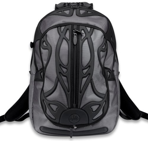Slappa SL-BP-201 Velocity SPYDER Backpack/Laptop Bag (Bla...