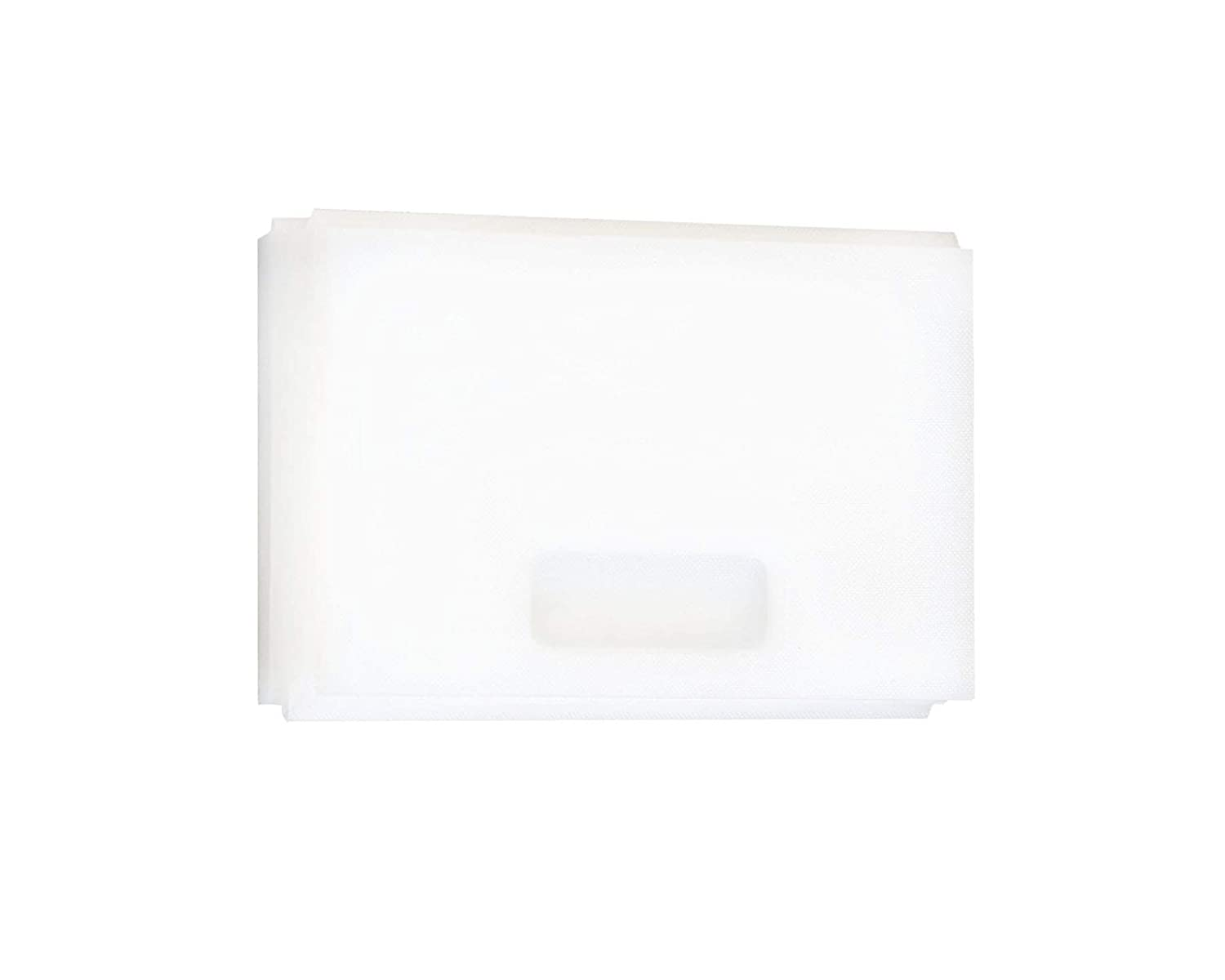 Small Ideal for Fishing Game or As Heavy Duty Kitchen Cutting Board White Organized Fishing 4-Fold Plastic Cutting Board 16 x 6 4FBCB-SM1