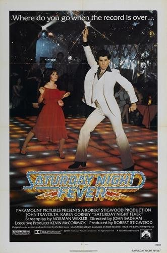 Image result for saturday night fever poster