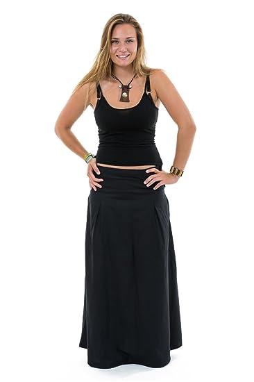 0121ebd5d67a FANTAZIA Jupe Longue Noire Eclipse -  Amazon.fr  Vêtements et accessoires