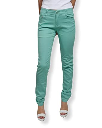 5c23752f1 BS JEAN : Jean femme slim fit taille haute - Jean femme de couleur ...