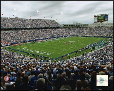 Commonwealth Stadium University of Kentucky Wildcats 2003 Art Poster PRINT Unknown 10x8