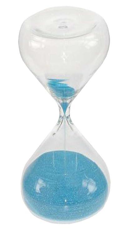 RD Reloj de Arena 30 Minutos, 1/2 Hora, Arena Color Azul