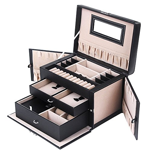 SONGMICS Organizer Mirrored Lockable UJBC121B product image