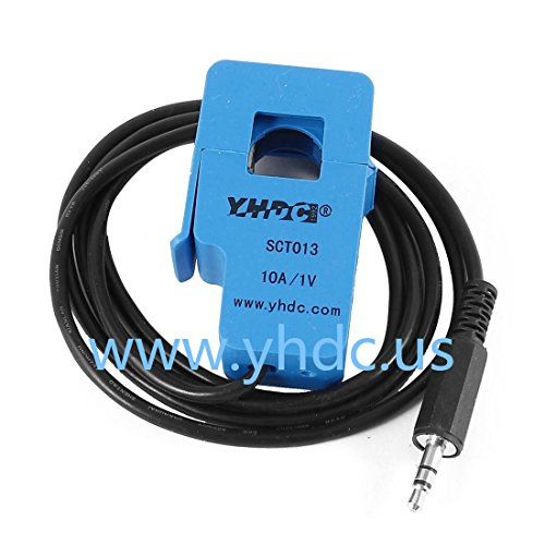 YHDC SCT013-010 AC Current Sensor Split Core Current Transformer 10A:1V Work Voltage 660V