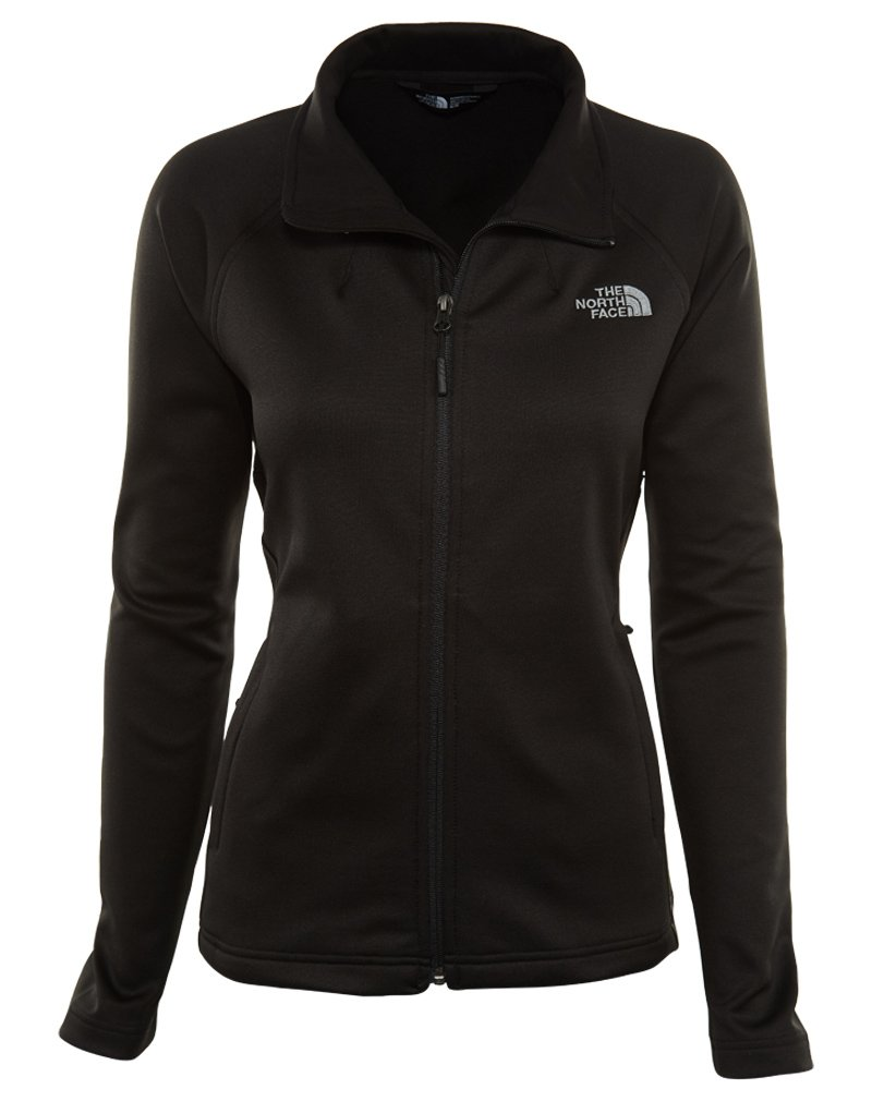 The North Face Women's Momentum Full Zip Fleece TNF Black L