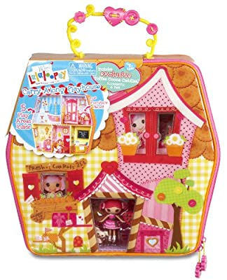 Mini Lalaloopsy Carry Along Playhouse with Exclusive Doll by Lalaloopsy