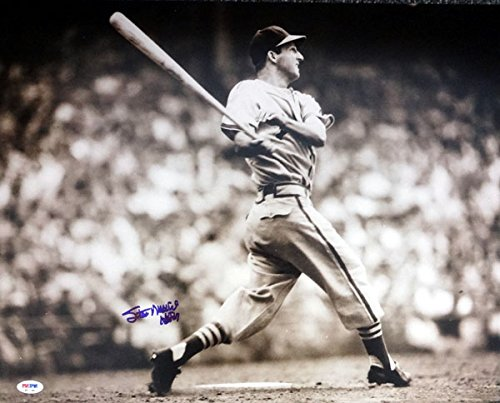 Stan Musial Autographed Photo - STAN MUSIAL AUTOGRAPHED 16X20 PHOTO ST. LOUIS CARDINALS