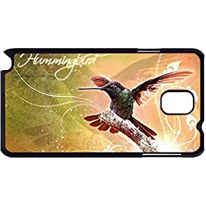 New Style Customized Back Cover Case For Samsung Galaxy Note 3 Hardshell Case, Back Cover Design Hummingbird Personalized Unique Case For Samsung Note 3