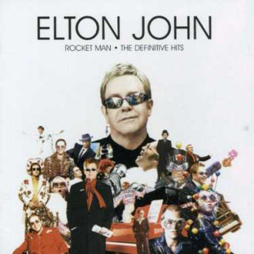CD : Elton John - Rocket Man-Definitive Hits-French Edition (France - Import)