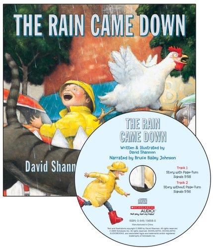 The Rain Came Down by Scholastic Audio Books